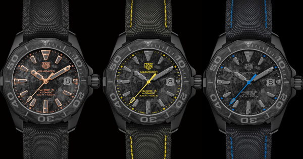 TAG Heuer Aquaracer Carbon (Technical Specifications and Prices)