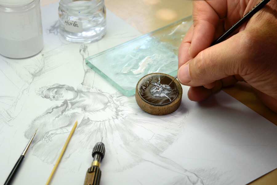 Vacheron Constantin grisaille enamel Dial