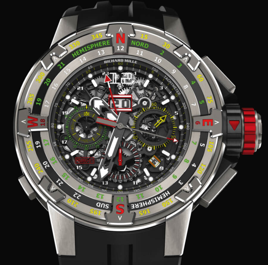 The New Richard Mille RM 60-01 Regatta Flyback Chronograph