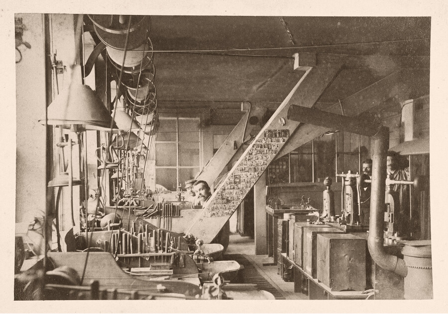 Vacheron Constantin Workshops 1900