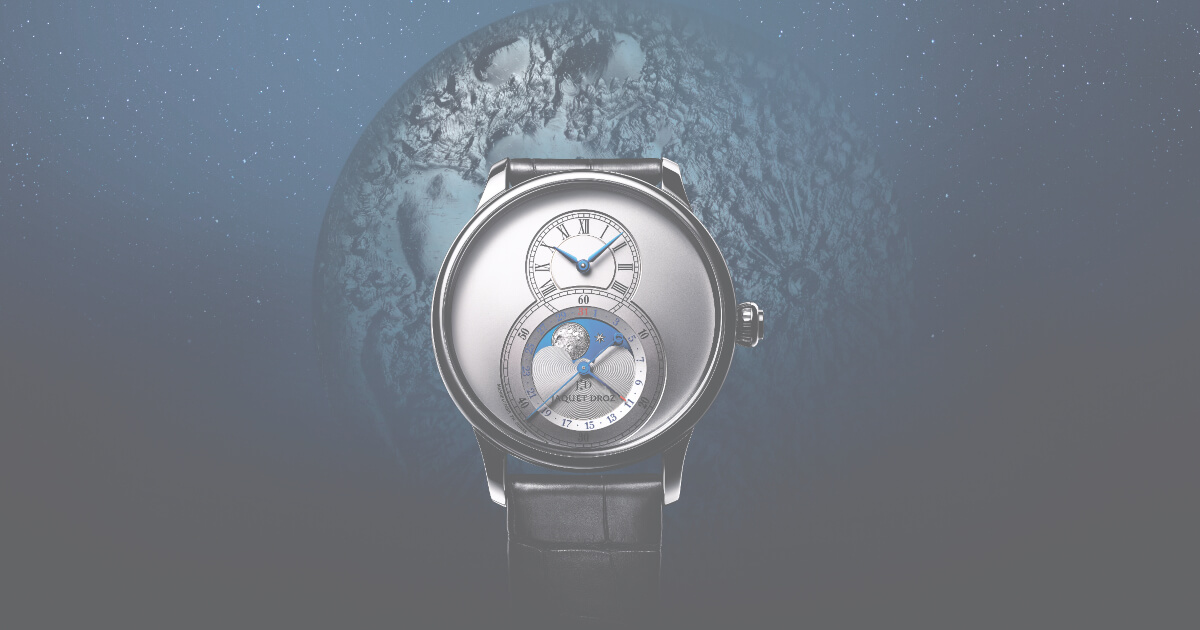 Jaquet Droz Grande Seconde Moon Collection