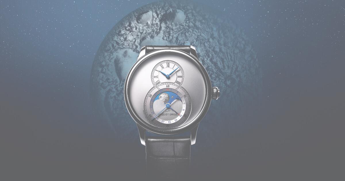 Jaquet Droz Grande Seconde Moon Collection