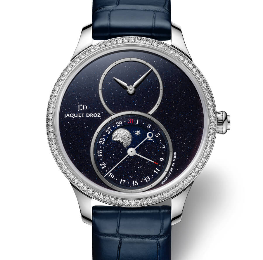 Ladies Jaquet Droz Grande Seconde Moon
