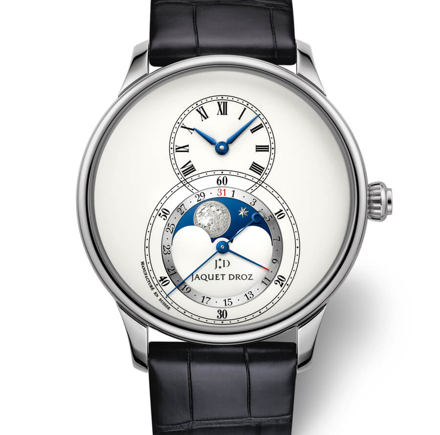 The New Jaquet Droz Grande Seconde Moon