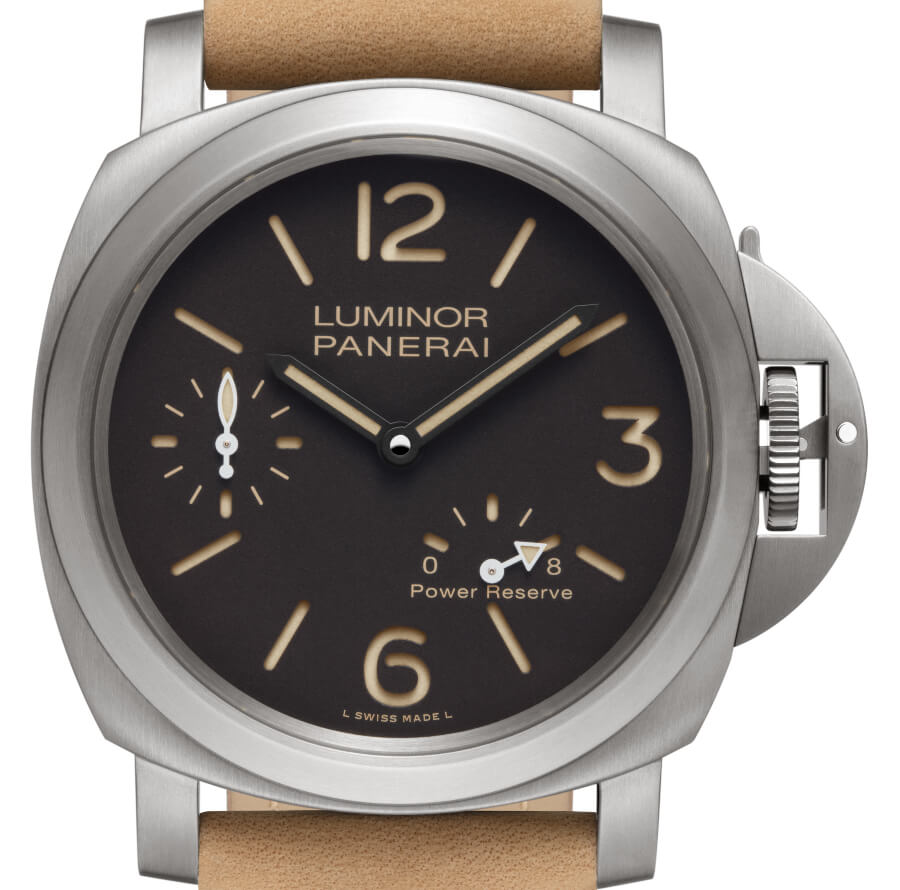 The New Panerai Luminor 8 Days Power Reserve Acciaio Titaium