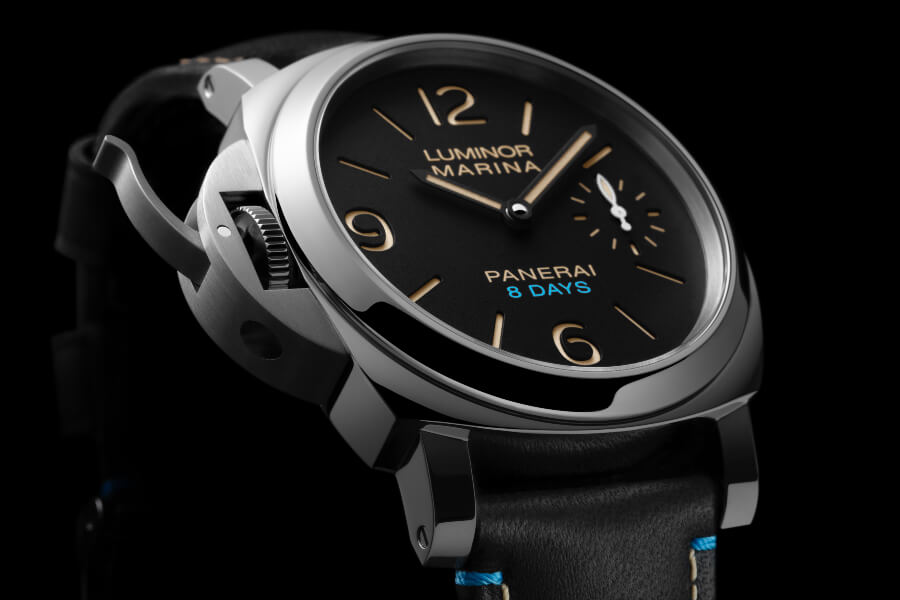 Panerai Luminor Left-Handed 8 Days Acciaio – 44mm