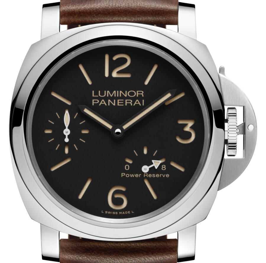 The New Panerai Luminor 8 Days Power Reserve Acciaio