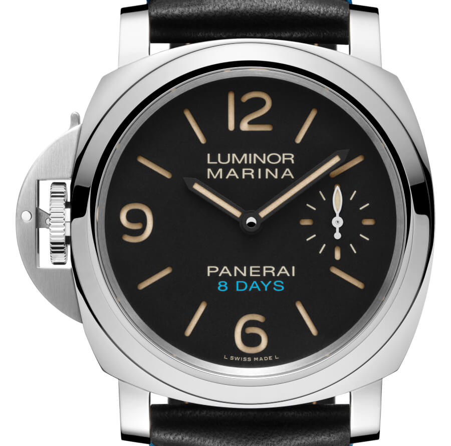 The New Panerai Luminor Left-Handed 8 Days Acciaio
