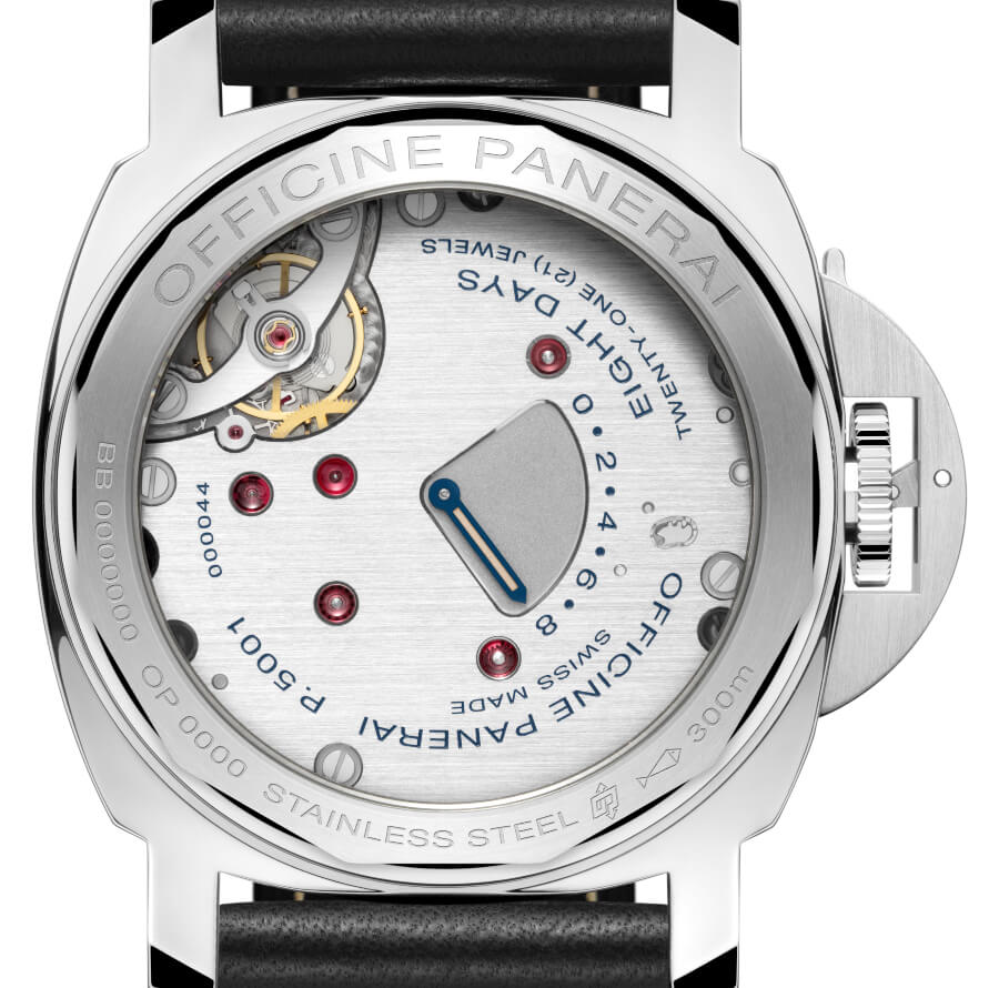 Panerai Luminor Left-Handed Movement