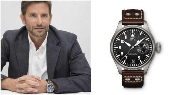 Watch Spotting: Bradley Cooper Wearing A IWC Big Pilot's Watch Limited Edition