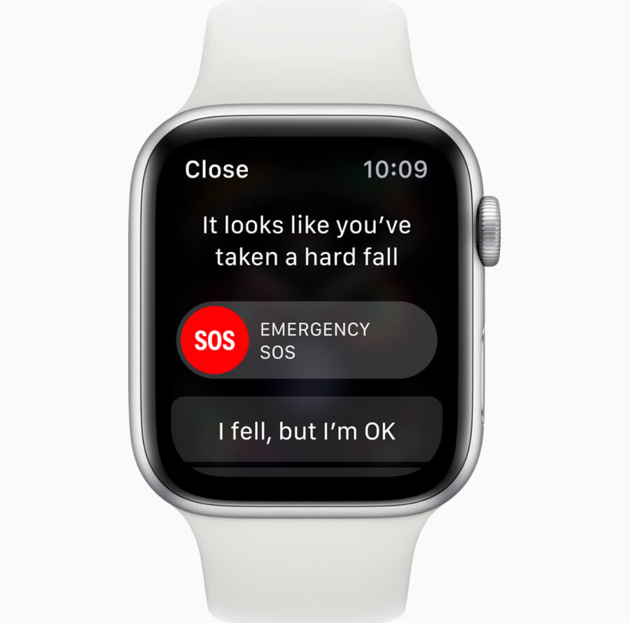 Apple Watch Series 4 Emergency SOS