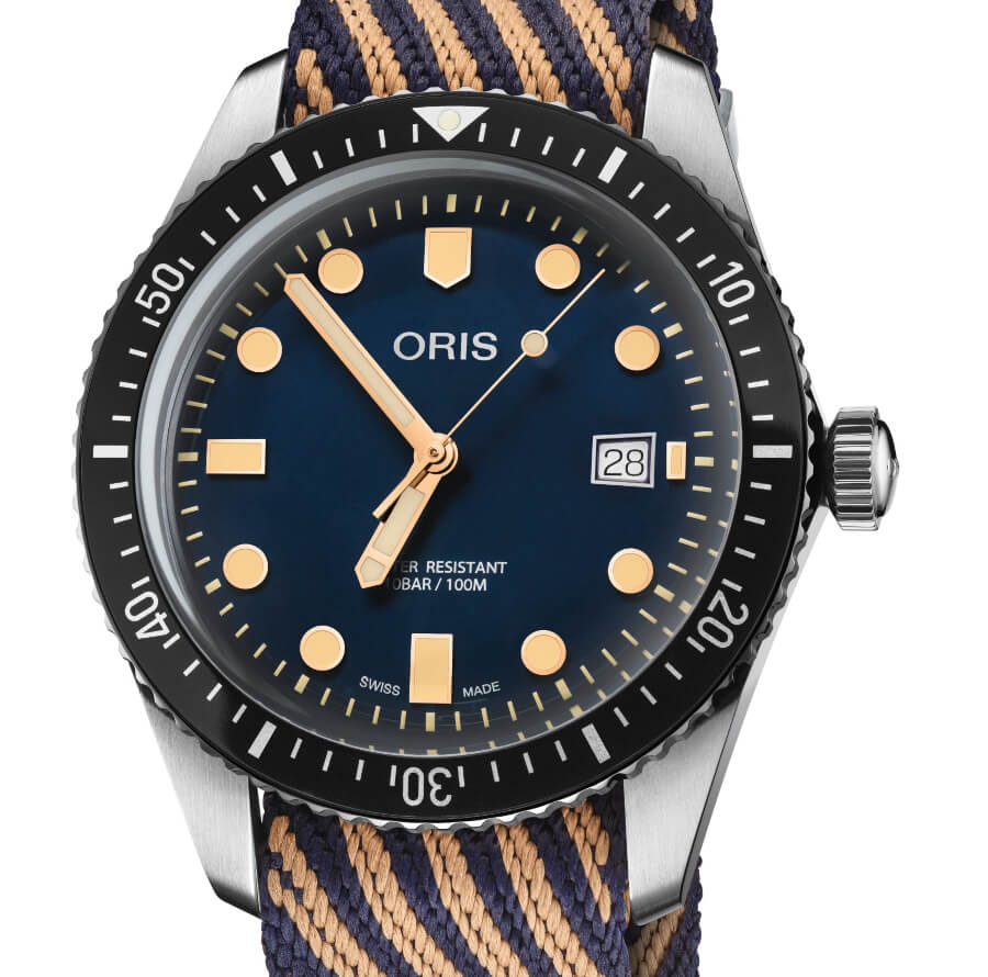 Oris Divers Sixty-Five With A Recycled Strap