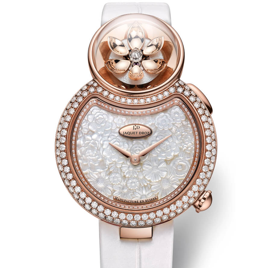 Jaquet Droz Lady 8 Flower Women Watch