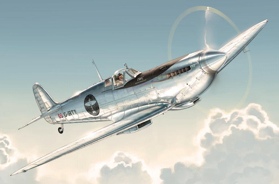 Spitfire marked MJ271