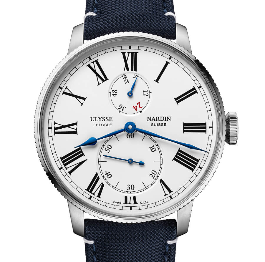 The New Ulysse Nardin Marine Torpilleur Military US Navy
