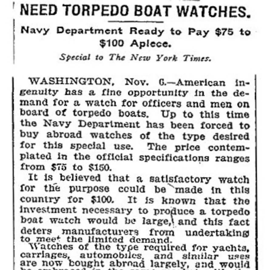 NY Times WWII Announcement
