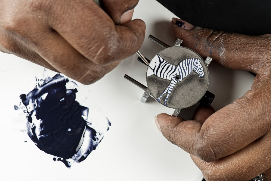 Hermes Slim D'Hermès Les Zèbres de Tanzanie