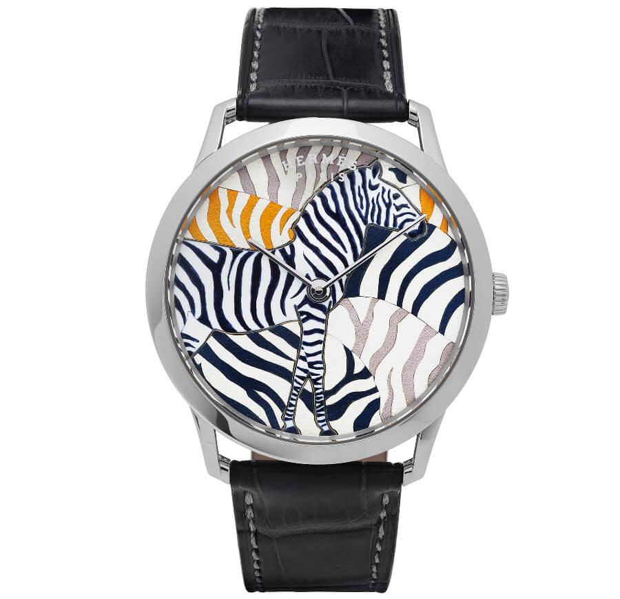 The New Hermes Slim D'Hermès Les Zèbres de Tanzanie
