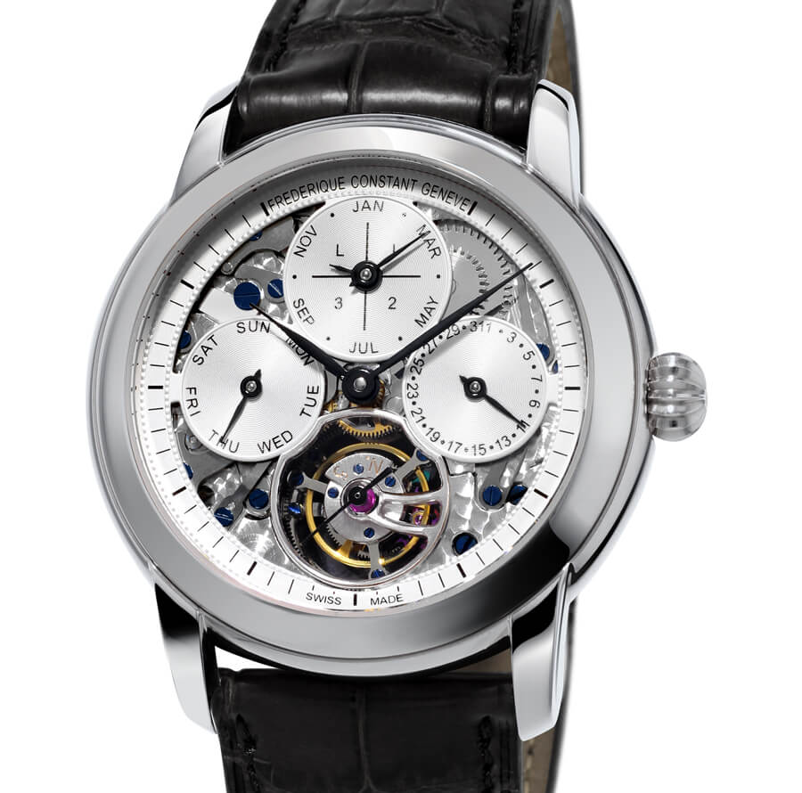 Affordable Swiss Perpetual Calendar Watch