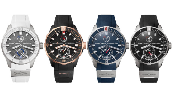 The New Ulysse Nardin Diver Chronometer Collection
