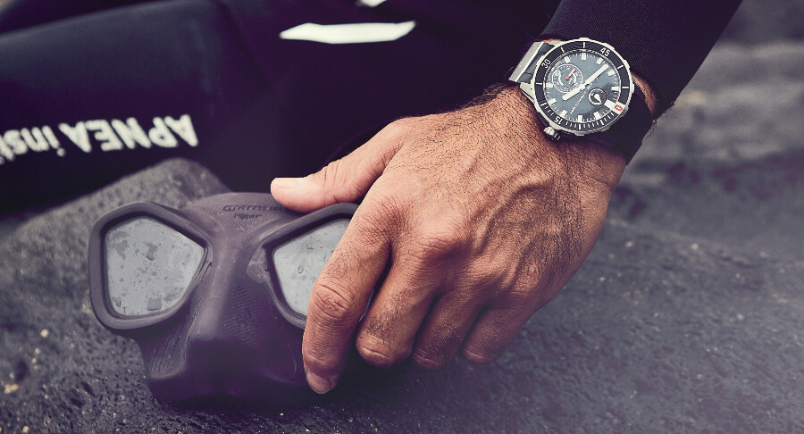 Ulysse Nardin Diver Chronometer Great White Limited Edition Watch Review