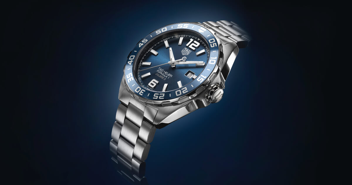 TAG Heuer Formula 1 Bucherer Blue Editions