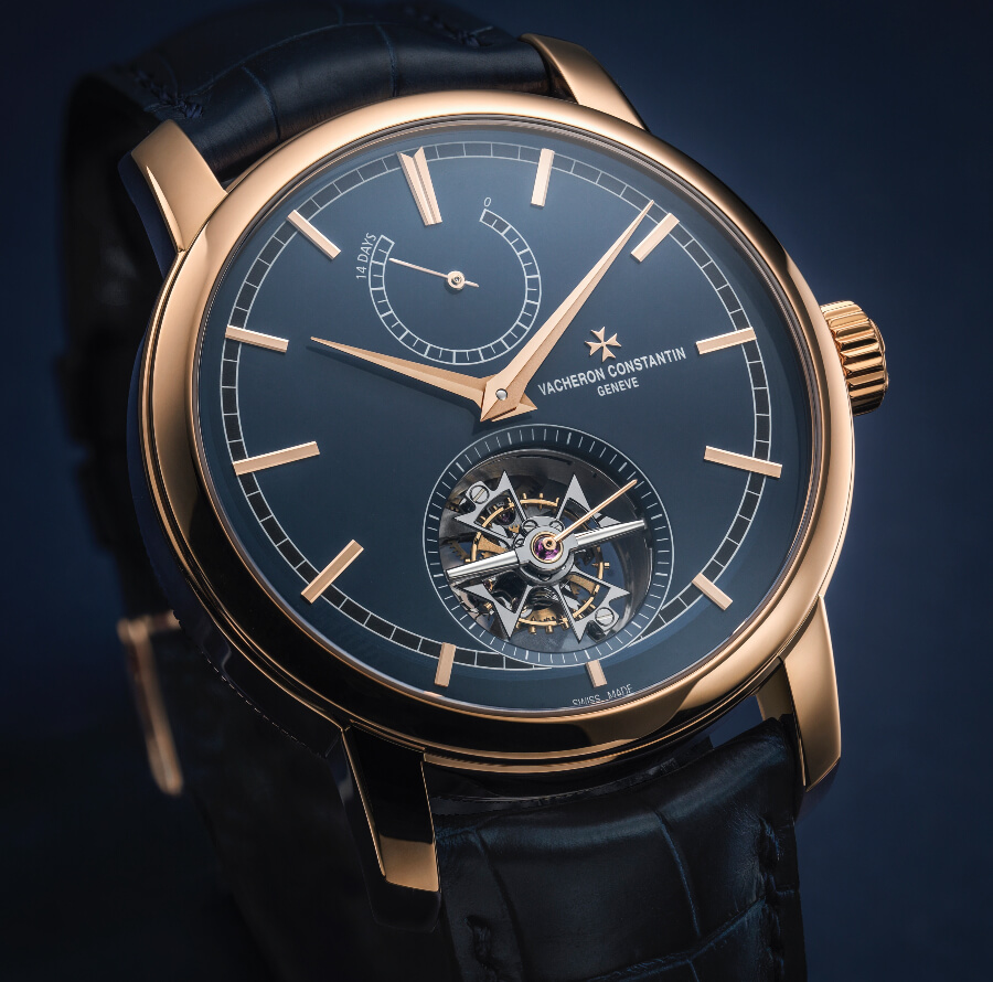 The New Vacheron Constantin Traditionnelle 14-Day Tourbillon Bucherer Blue Editions