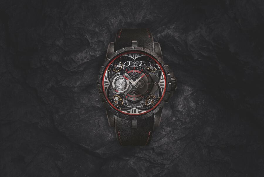The New Roger Dubuis Excalibur Quatuor Carbon