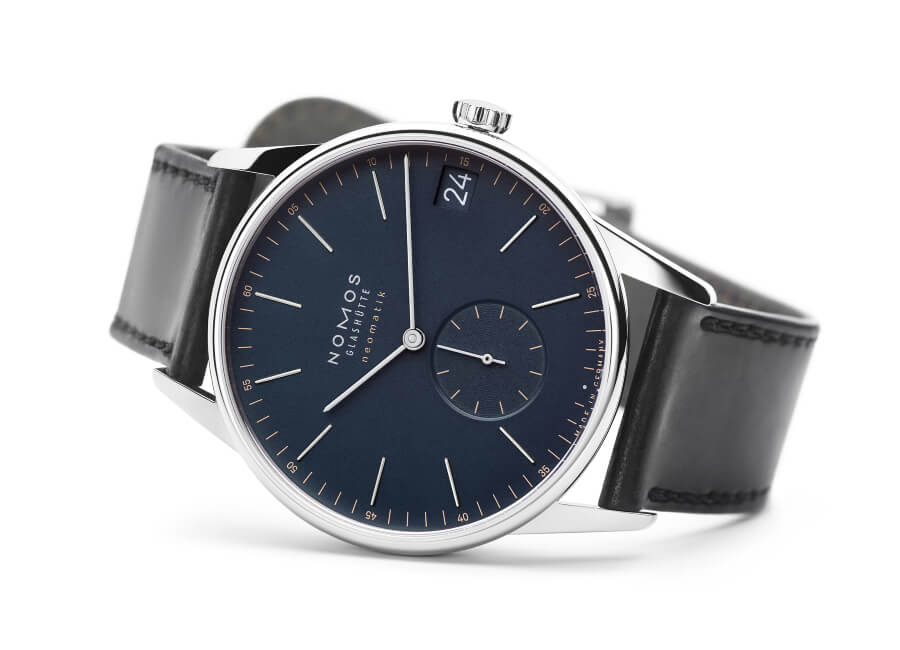 Nomos Orion Neomatik 41 Date Midnight Blue