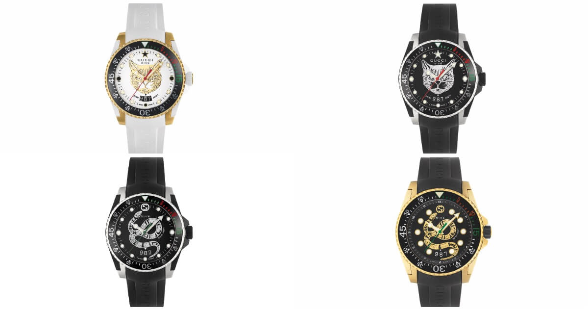New Gucci Dive Watches