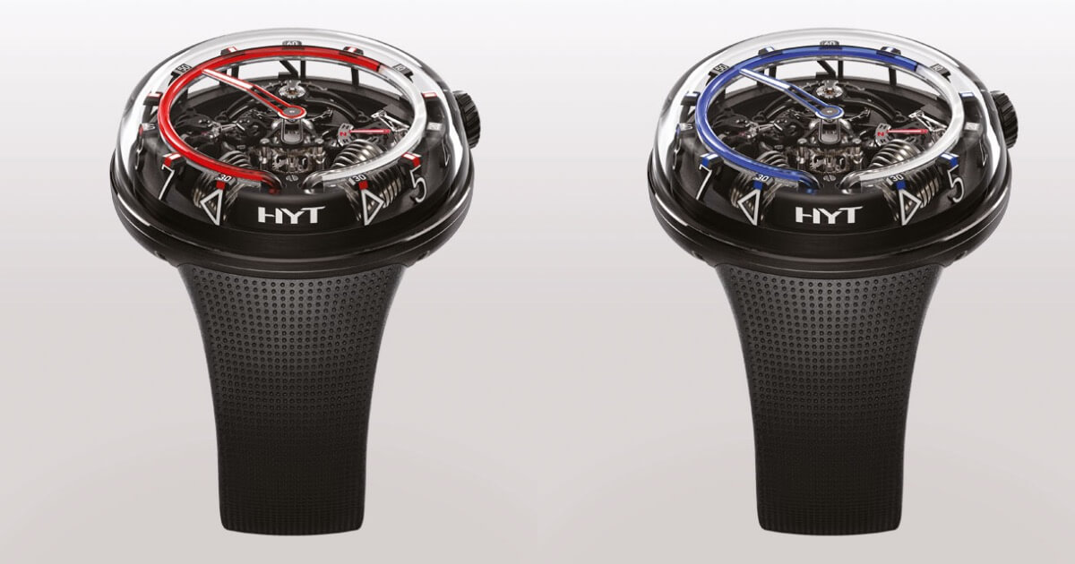 Two New Limited Editions Of The HYT H20
