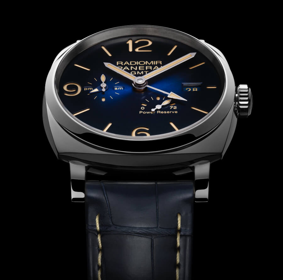 The New Panerai Radiomir 1940 3 Days Gmt Power Reserve Automatic Acciaio – 45mm