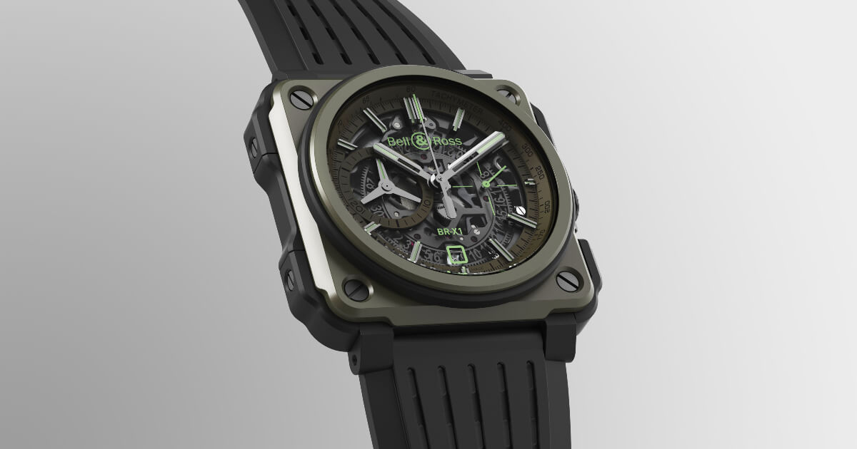 Bell & Ross BR-X1 Military (Pictures and Price)