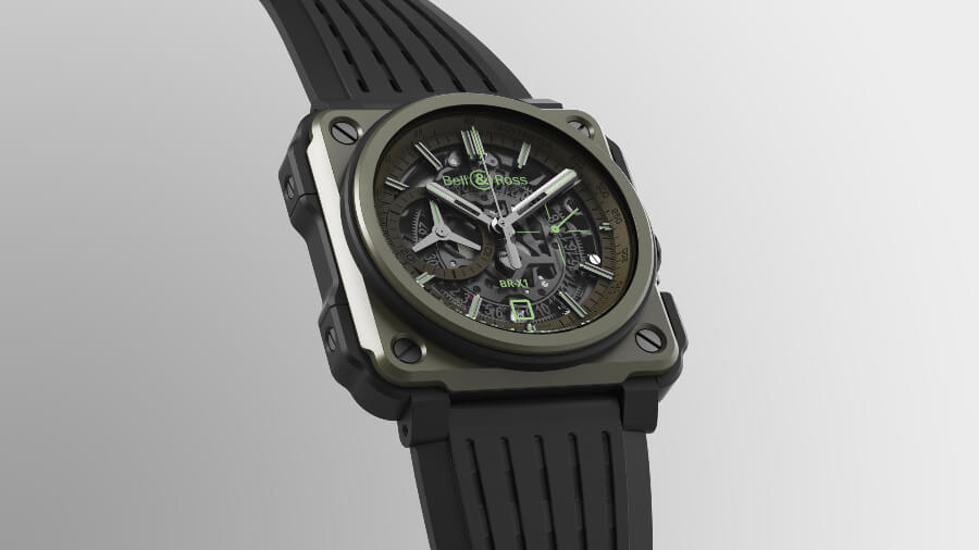 The New Bell & Ross BR-X1 Military