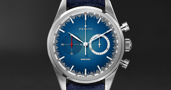 Mr Porter Partners With Zenith And Bamford Watch Department To Create A Limited-Edition