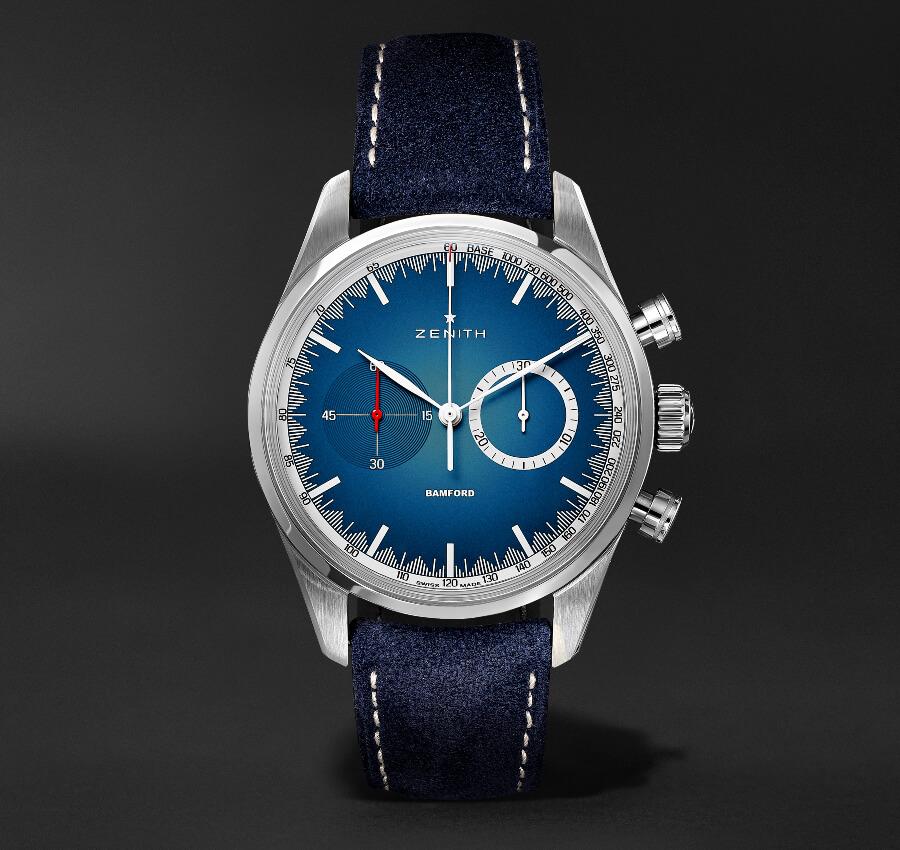 Zenith El Primero Chronograph Blue Dial