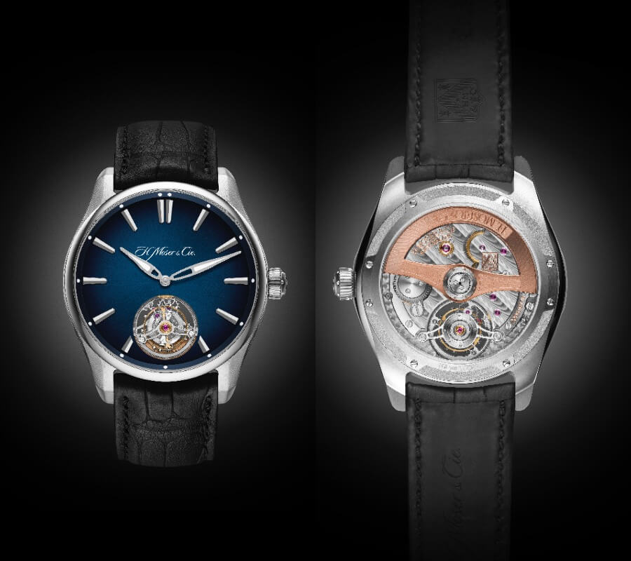 H. MOSER & CIE. ALL-TERRAIN STEEL TOURBILLON