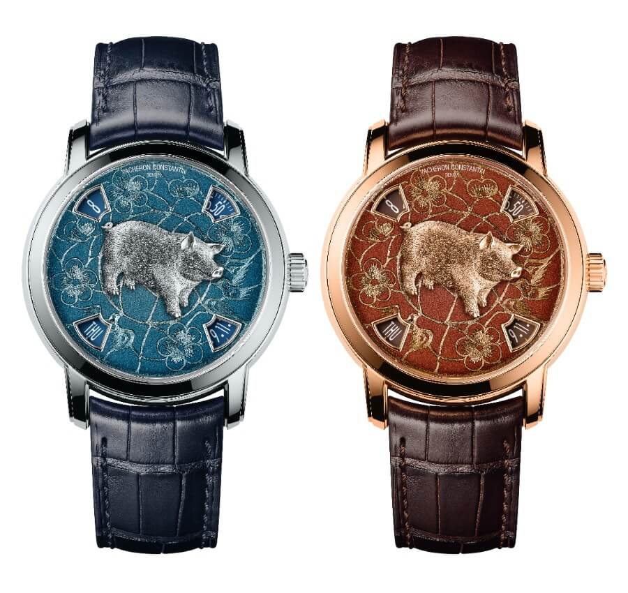 The New Vacheron Constantin Métiers D'Art The Legend Of The Chinese Zodiac Year Of The Pig