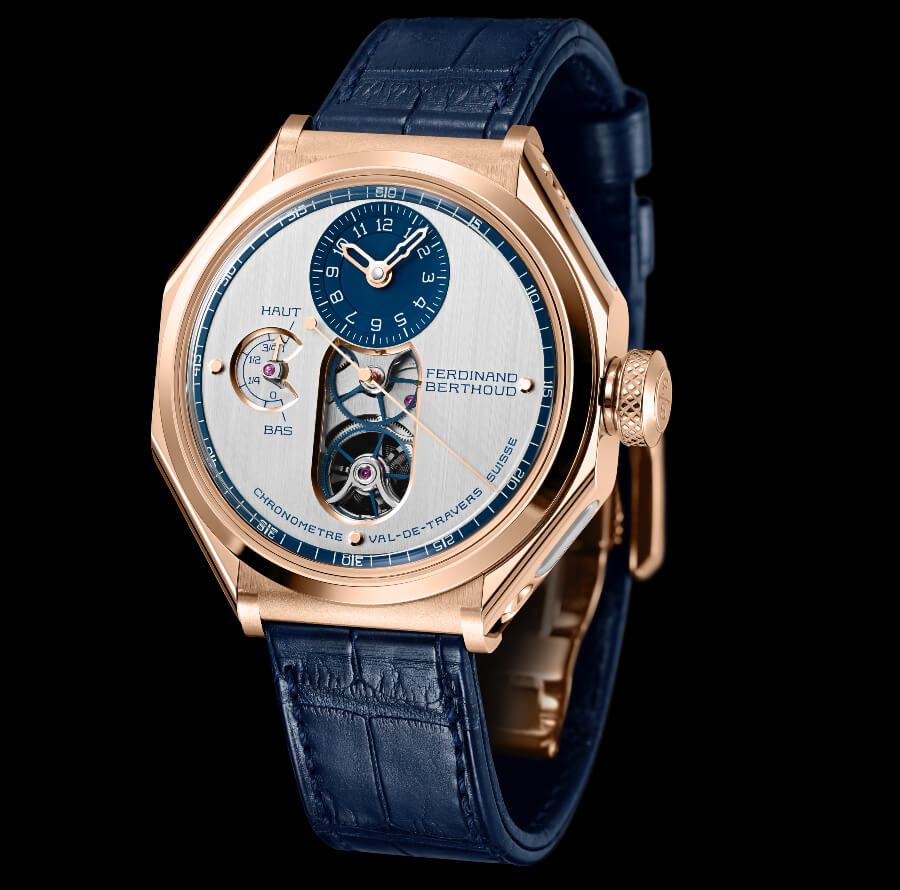 The New Ferdinand Berthoud Chronomètre FB1 Malaspina Edition