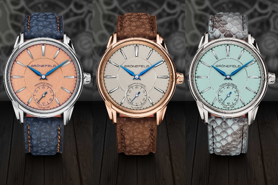 Luxury Watches Grönefeld 1941 Principia