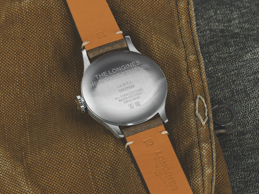 Longines Heritage Military Case