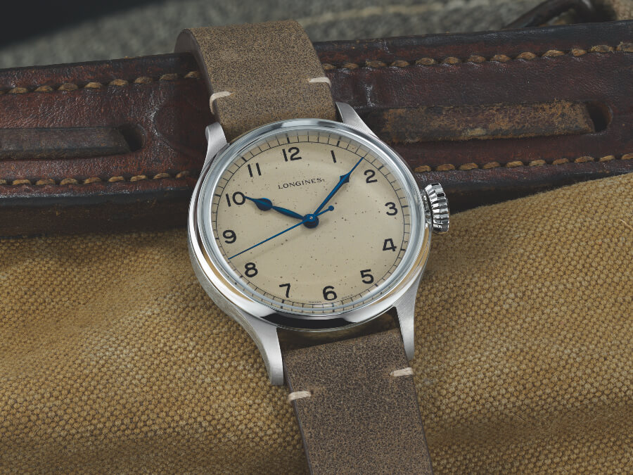The New Longines Heritage Military