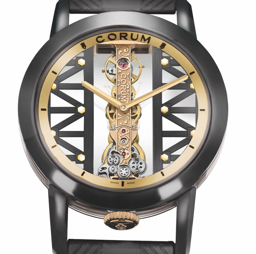 Corum Golden Bridge Titane DLC Men Watches