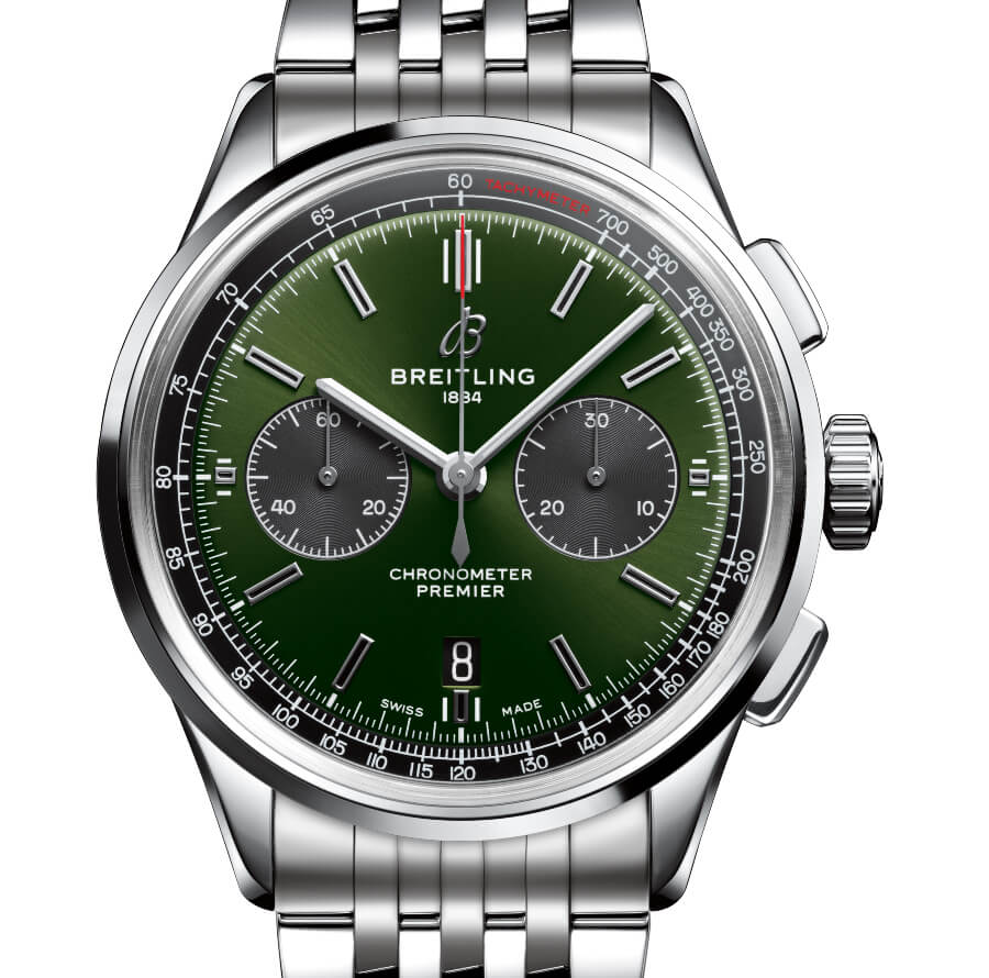 The New Breitling Premier B01 Chronograph 42 Bentley British Racing Green