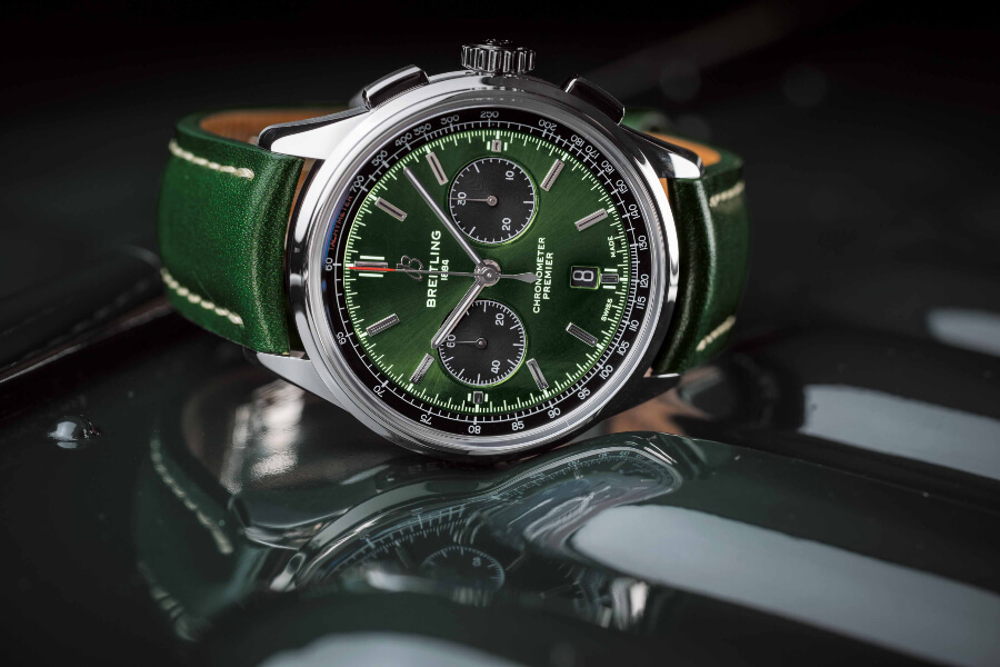 Breitling Premier B01 Chronograph 42 Bentley British Racing Green