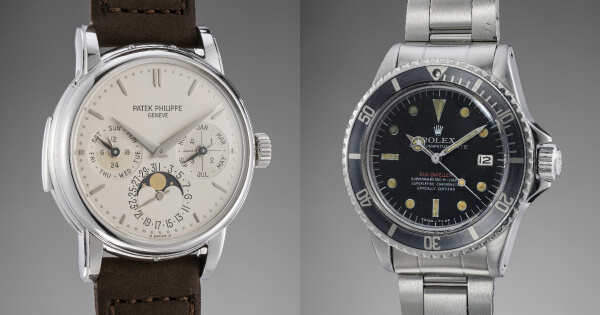 A Platinum Patek Philippe Reference 3974 And Other Collectible Watches To Be Sold By Phillips In Association With Bacs & Russo