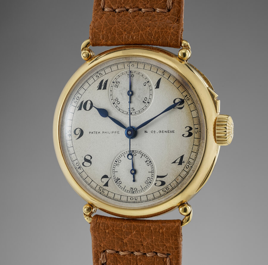 Patek Philippe Single Button chronograph
