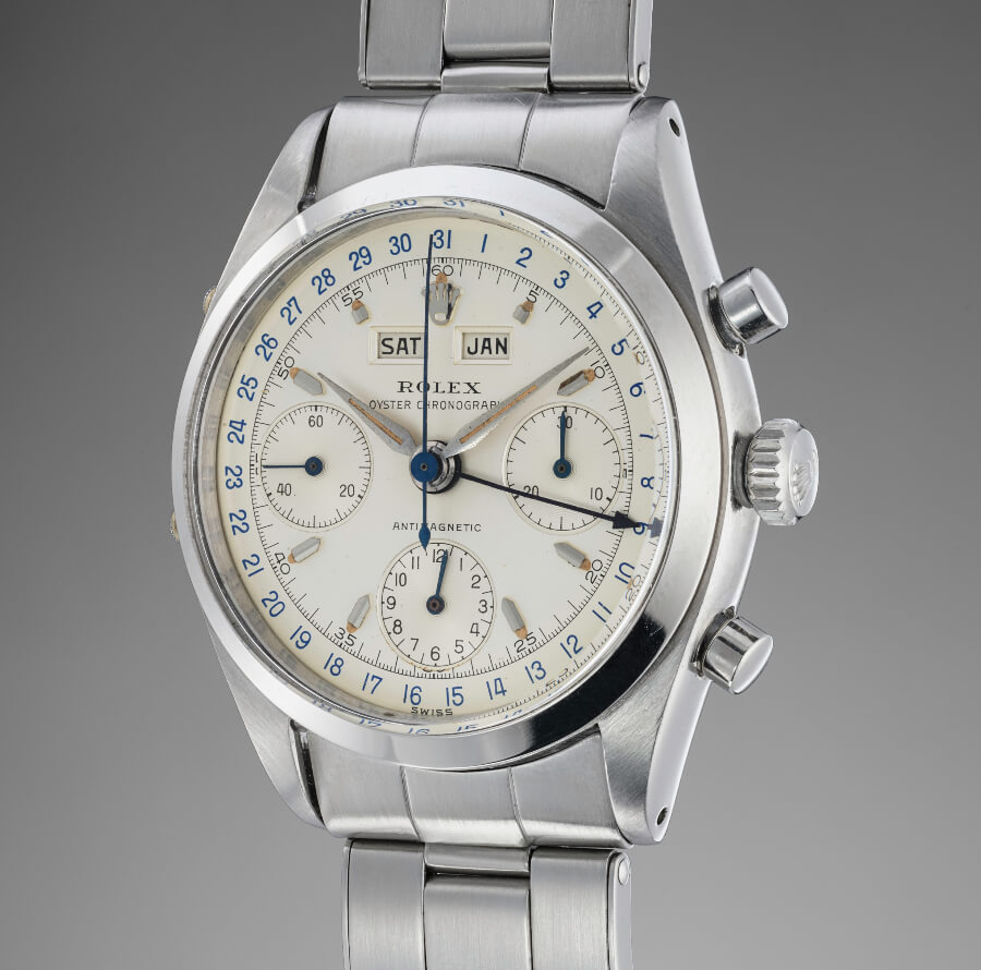 "Rolex ""Jean-Claud Killy"" reference 6236 Dato - Compax in Stainless Steel"