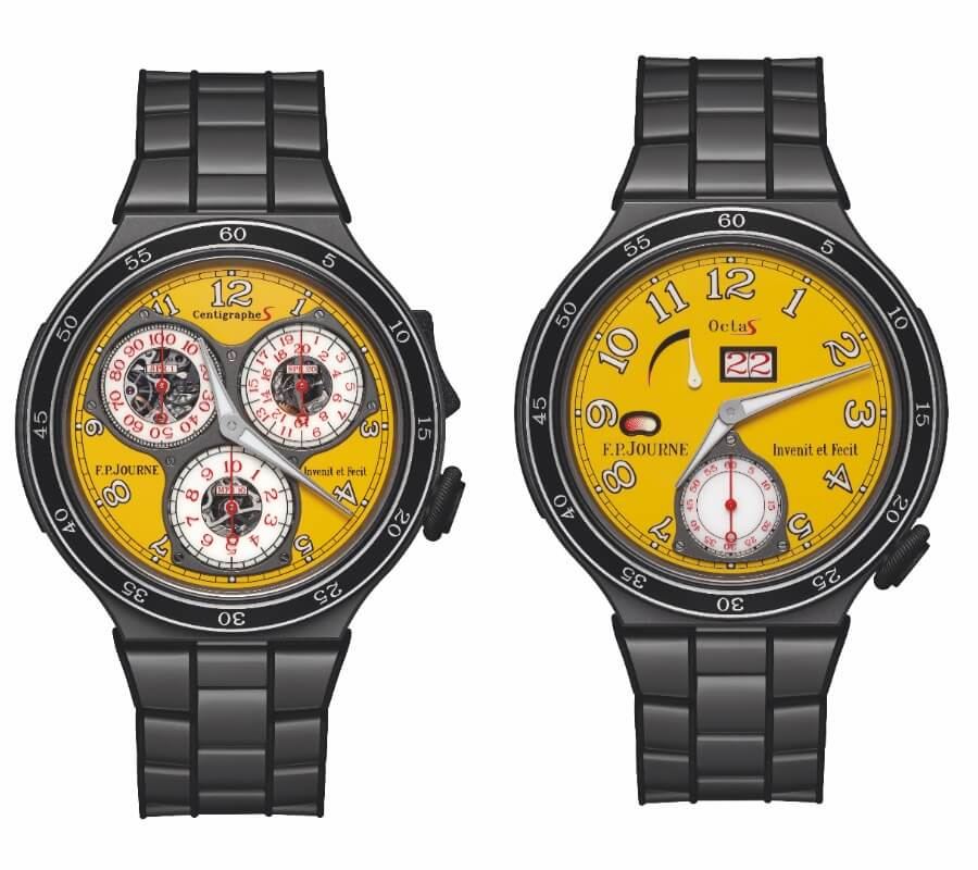 F.P. Journe Centigraphe Sport And Octa Sport 2018