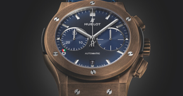 "Hublot Classic Fusion Chronograph 45mm Special Edition ""Kuwait"" Watch"